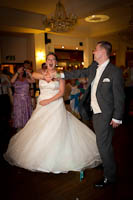 Cheshire Wedding Photographer - Fun Wedding Reception Photograph - First Dance