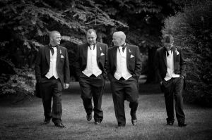 Groom Wedding Photography, Knutsford, Cheshire