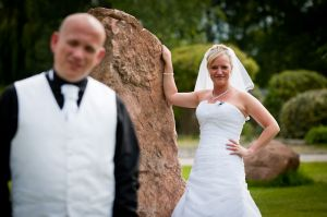 Bride & Groom Portraits, Peover Golf Club, Knutsford, Cheshire