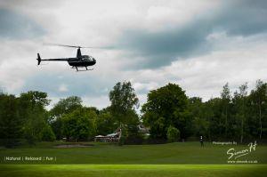 Bride's Arrival Peover Golf Club Wedding
