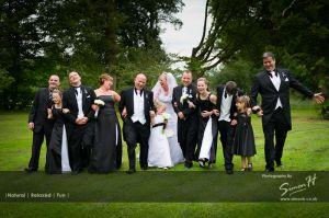 Fun Wedding Photography Peover Golf Club Wedding