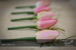 Bolton School Wedding Photography Groom Flowers