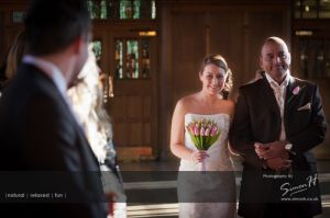 Bolton School Wedding Photography Aisle