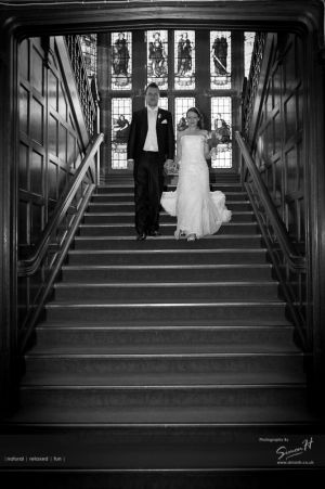 Bolton School Wedding Photography Black & White