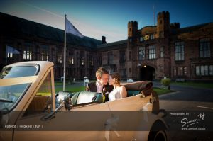 Bolton School Wedding Photography Wedding Car