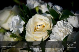 Cheshire Wedding Photography - Wedding Flowers and Wedding Ring