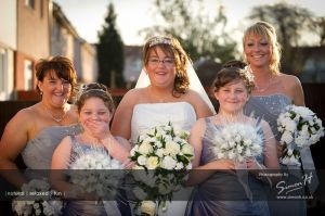 Cheshire Wedding Photography - Bridesmaids and Bride