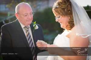 Cheshire Wedding Photography - Father of Bride and Bride