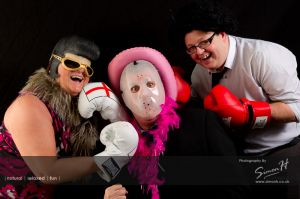 Cheshire Wedding Photography - Photo Booth Fun
