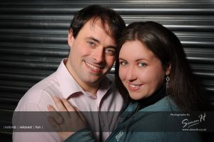 Stockport Wedding Photographer Studio Portrait